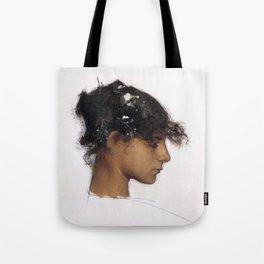 John Singer Sargent - Rosina Ferrara, Head of a Capri Girl Tote Bag