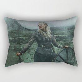 Shieldmaiden Rectangular Pillow