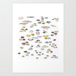 fish named Art Print