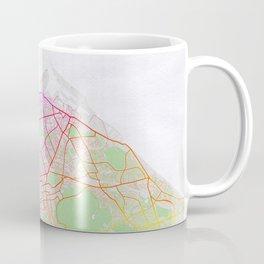 Edinburgh City Map of Scotland - Colorful Coffee Mug