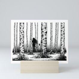 Wood Nymph Mini Art Print