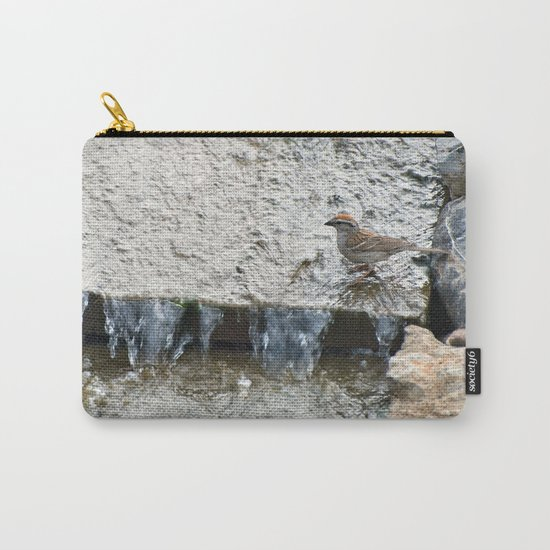 Water (Chipping Sparrow) Carry-All Pouch