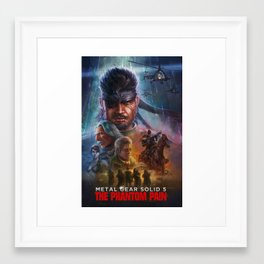 MGS: the poster edition  Framed Art Print