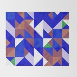 Mondriaan_Mountain Throw Blanket