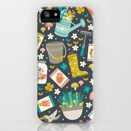 In the Garden iPhone Case