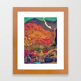 Autumn Baths in Kaanaii Framed Art Print