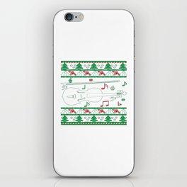 Violin Christmas iPhone Skin