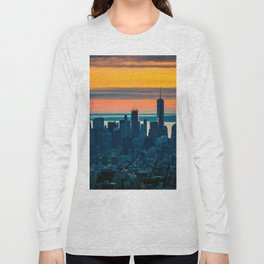 sunset in New York Long Sleeve T-shirt