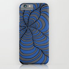 Tunnels Blue and Silver Slim Case iPhone 6s
