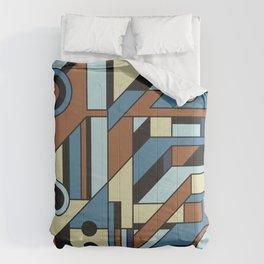 De Stijl Abstract Geometric Artwork 3 Comforters