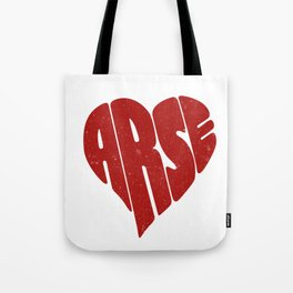 Shape of love Tote Bag