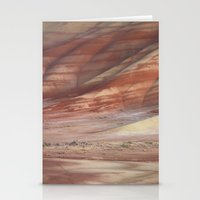 minerals Stationery Cards featuring Hills Painted by Earth Minerals by Leland D Howard