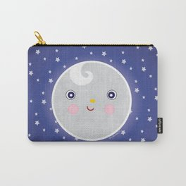 Happy Moon Man Carry-All Pouch