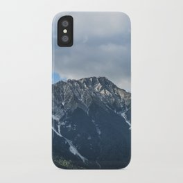 Clouds over the Mountain // Landscape Photography iPhone Case