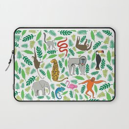 Animals in the Jungle Laptop Sleeve
