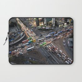 Gangnam at Rush Hour Laptop Sleeve