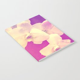 Pink Orchid Notebook