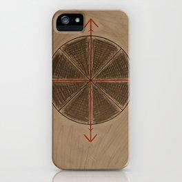 Wheel of Arte iPhone Case