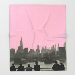 New York Nights Throw Blanket