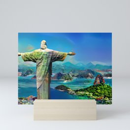 Colorful Rio Mini Art Print