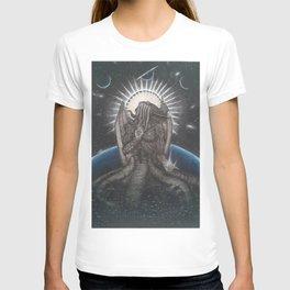 Ph'nglui mglw'nafh Cthulhu R'lyeh wgah'nagl fhtagn. T-shirt