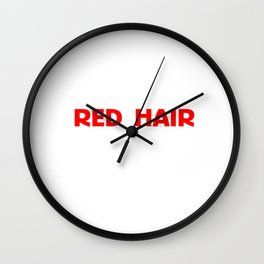 Only 2% Of The World Has Red Hair T-shirt Unicorn Shirt Wall Clock