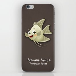 Angel Fish iPhone Skin