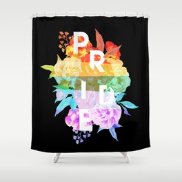 Floral Pride Shower Curtain