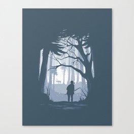 Ellie Hunting Canvas Print