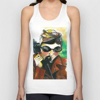 amelie Tank Tops featuring Amelie by Gra Pereira