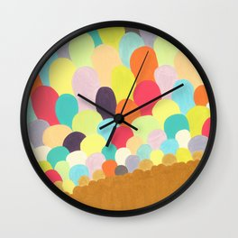 colorful originality Wall Clock