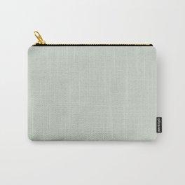 Green Linen Carry-All Pouch
