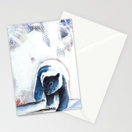 Bears - Don't be afraid, I'll show you the way... by LiliFlore Stationery Cards