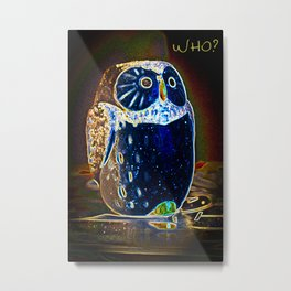 Owl Who? Metal Print
