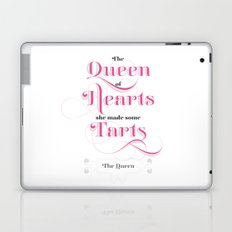The Queen of Hearts Laptop & iPad Skin