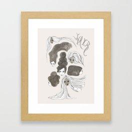 Hair 1 of 3 Framed Art Print