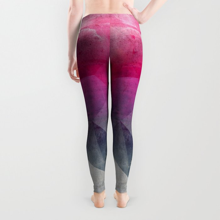 Pink Concrete Leggings