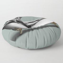 Elephant in Bath Floor Pillow