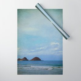Vintage Hawaii Beach 15 Wrapping Paper