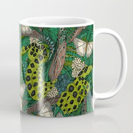 entangled forest green Coffee Mug
