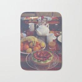Food photography, fruit still life, kitchen wall art, bed & breakfast, food porn, fine art Bath Mat