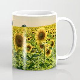 Sunflowers in Portugal Coffee Mug
