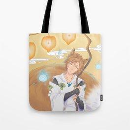Kitsunebi Tote Bag