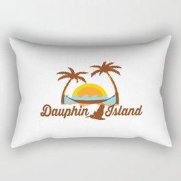 Dauphin Island - Alabama. Rectangular Pillow