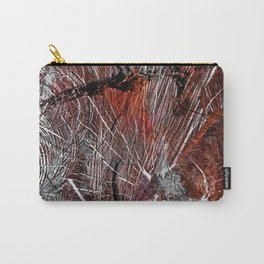 RED ARCHETYPAL STRUCTURES Carry-All Pouch