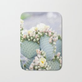 Cactus Blooms Bath Mat