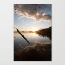 Rope Swing  Canvas Print