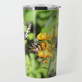 2 butterflies and a bee Travel Mug