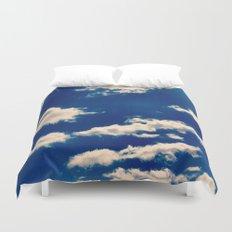 Blue and White Duvet Cover