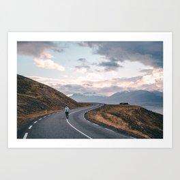 Iceland Winding Roads Art Print